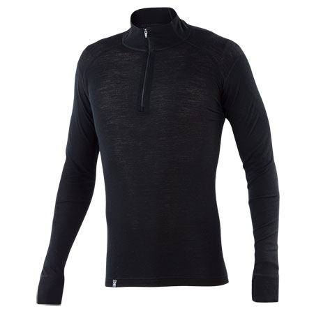 Men's - Woolies Zip T-Neck