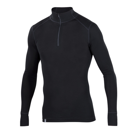 Woolies 1 Zip T-Neck