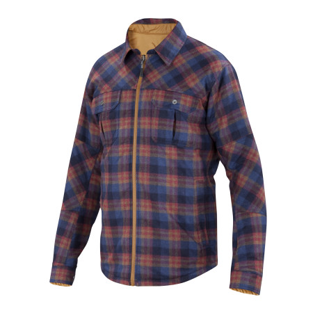 Reversible Camp Shirt-Jac