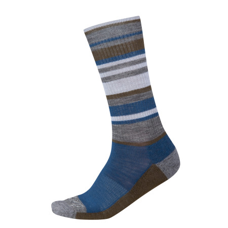 Multi Stripe Sock