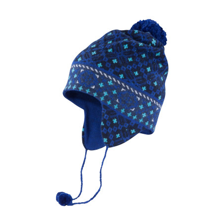 Women's - Fairisle Earflap w/ Ties