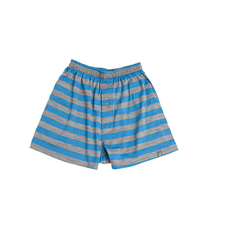 Men's - M's Striped D-Lux Boxer