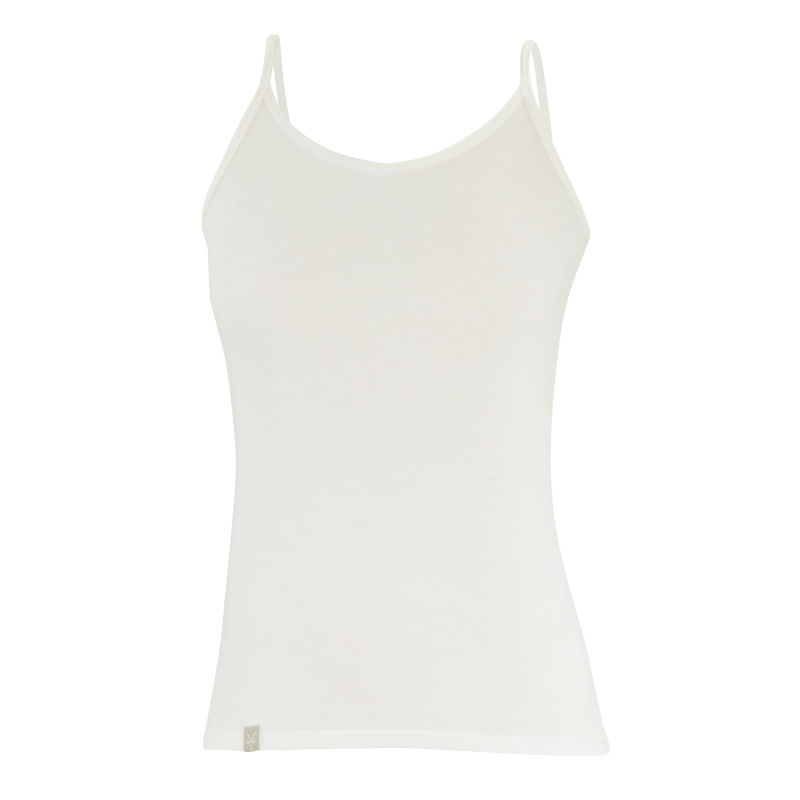 Lightweight Merino rib-knit baselayer camisole