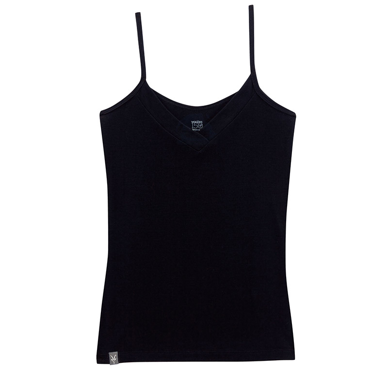 Lightweight Merino rib knit baselayer camisole