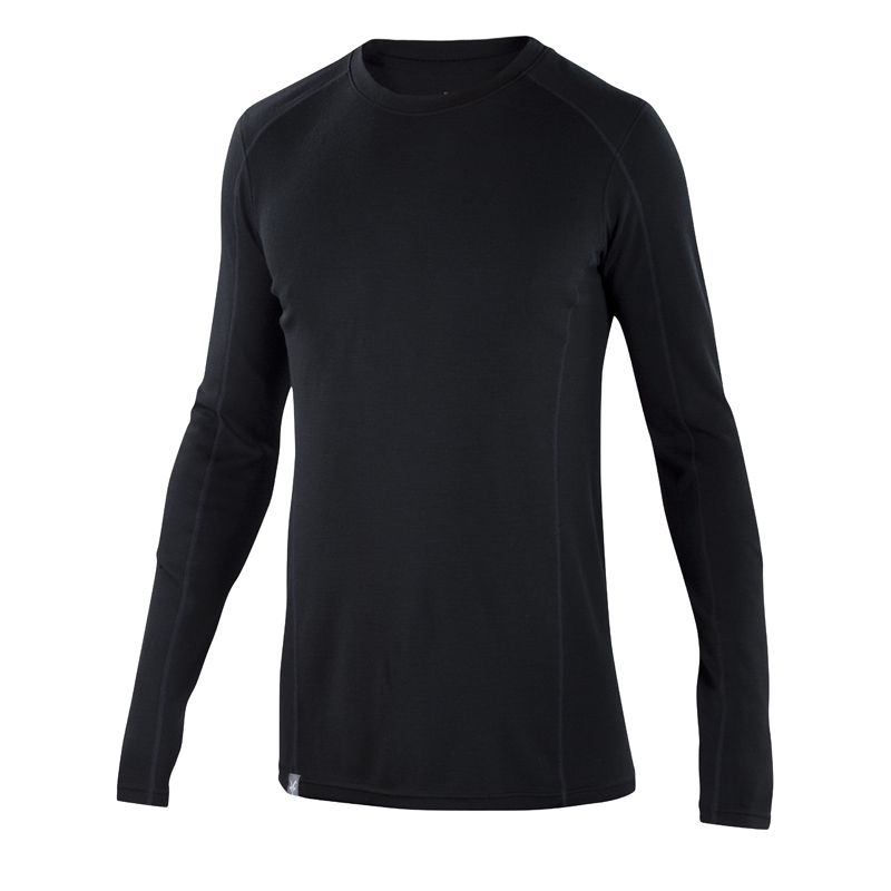 Mid-weight Merino interlock knit baselayer top