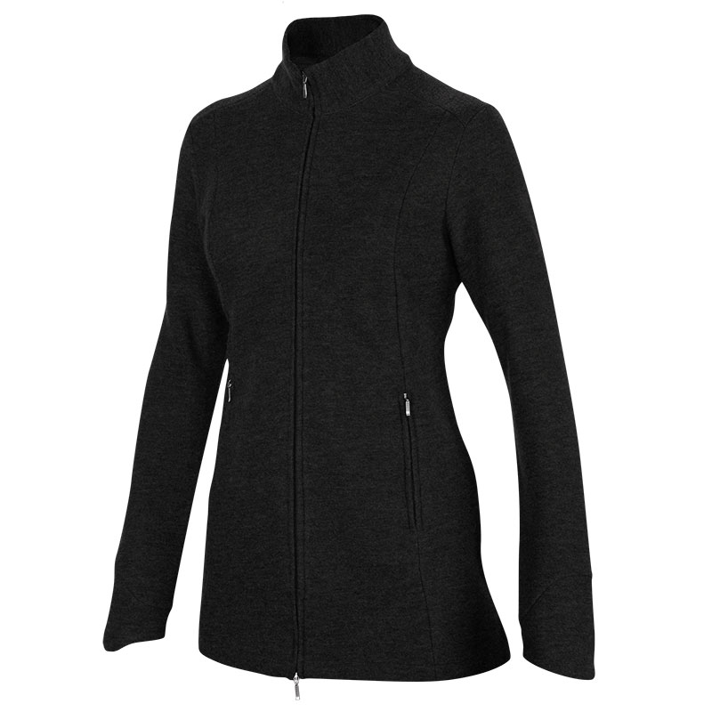 Ibex long tunic sweater jacket merino