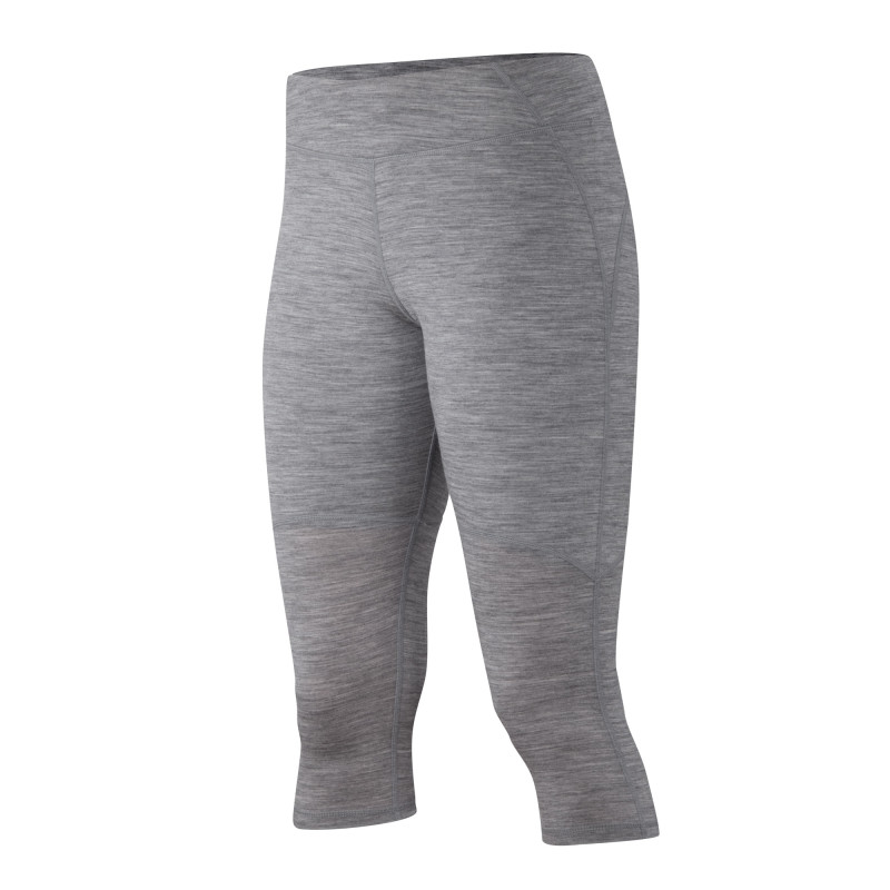 Performance knit Merino 3/4 tight
