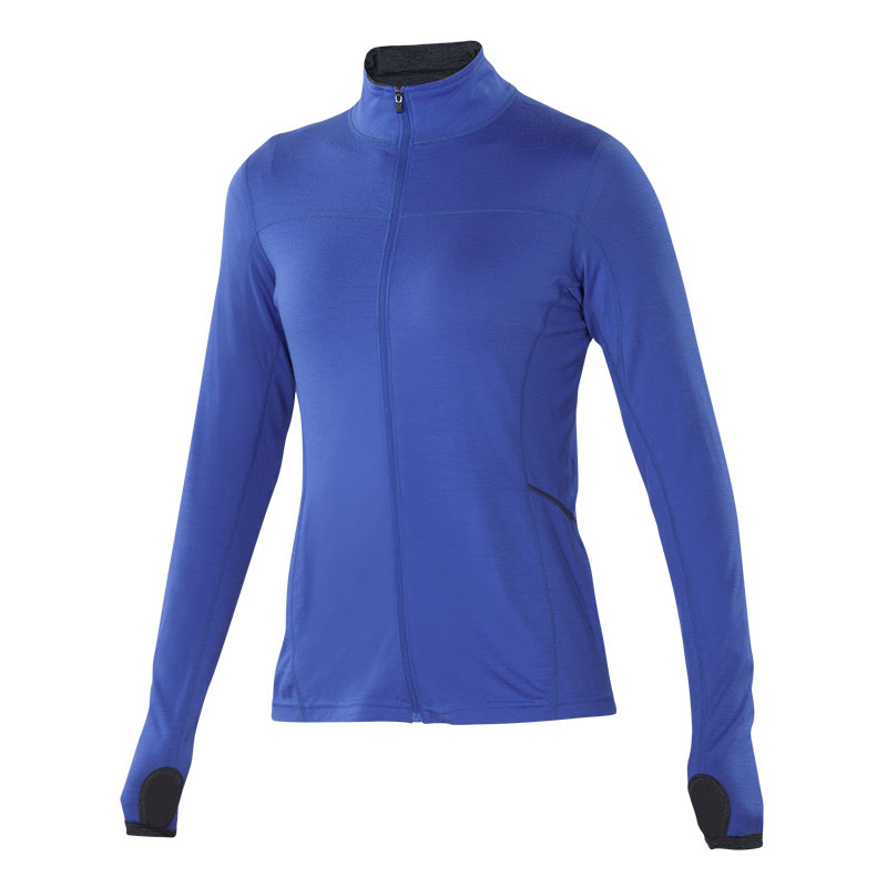 Performance Merino full zip jersey