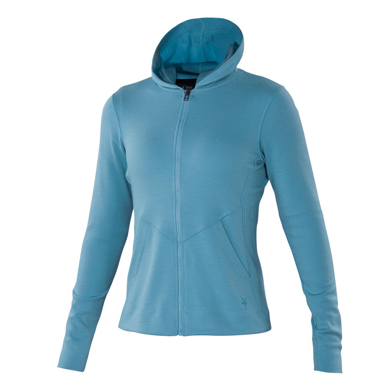 100% USA-produced mid-weight Ponte hoody