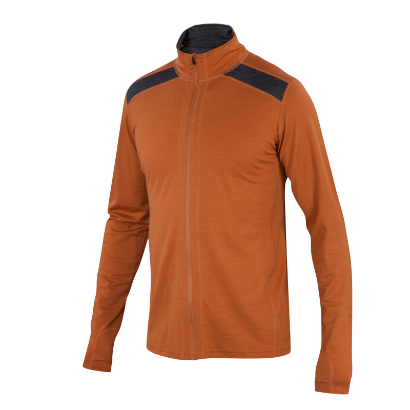 All-season Merino jersey full zip