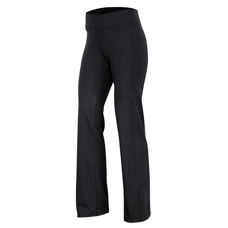 Triple plaited organic cotton/Merino wool stretch pant