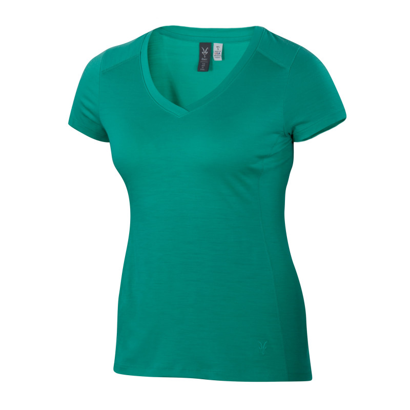 Lightweight Merino V-neck tee