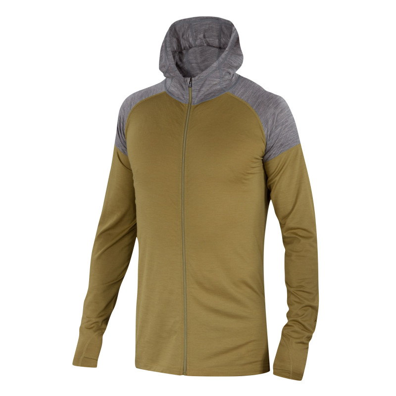 Lightweight Merino long sleeve hoody
