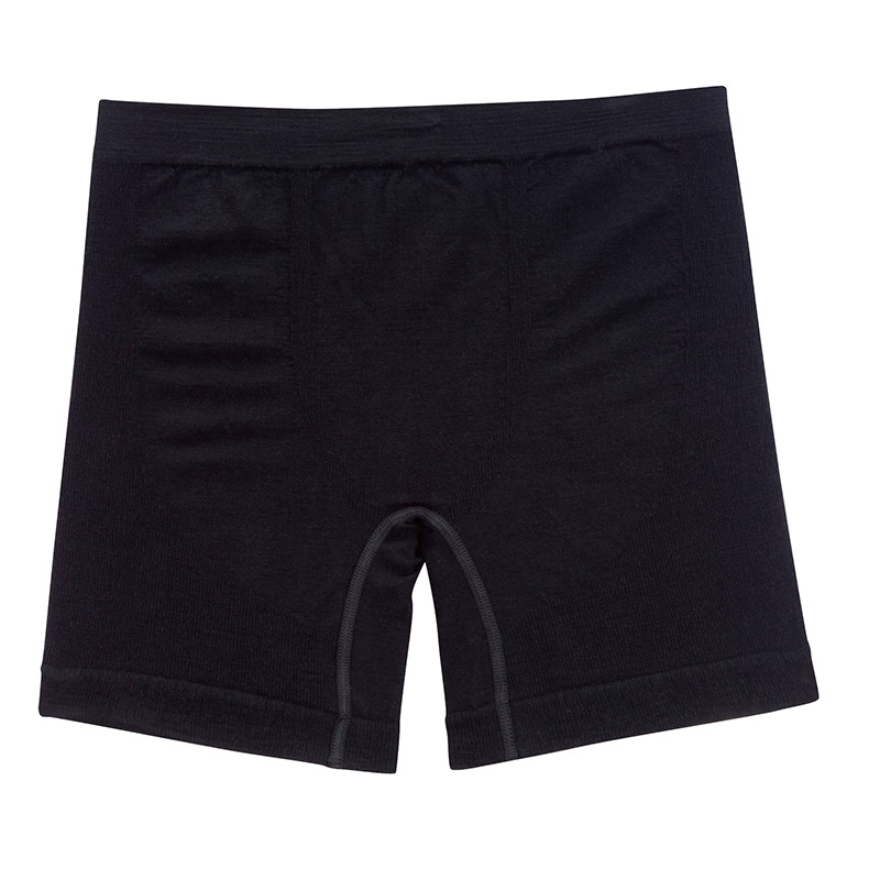 Seamless construction, ultra-fine soft Merino boxer shorts