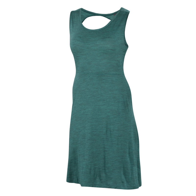 All-season Merino jersey knit dress