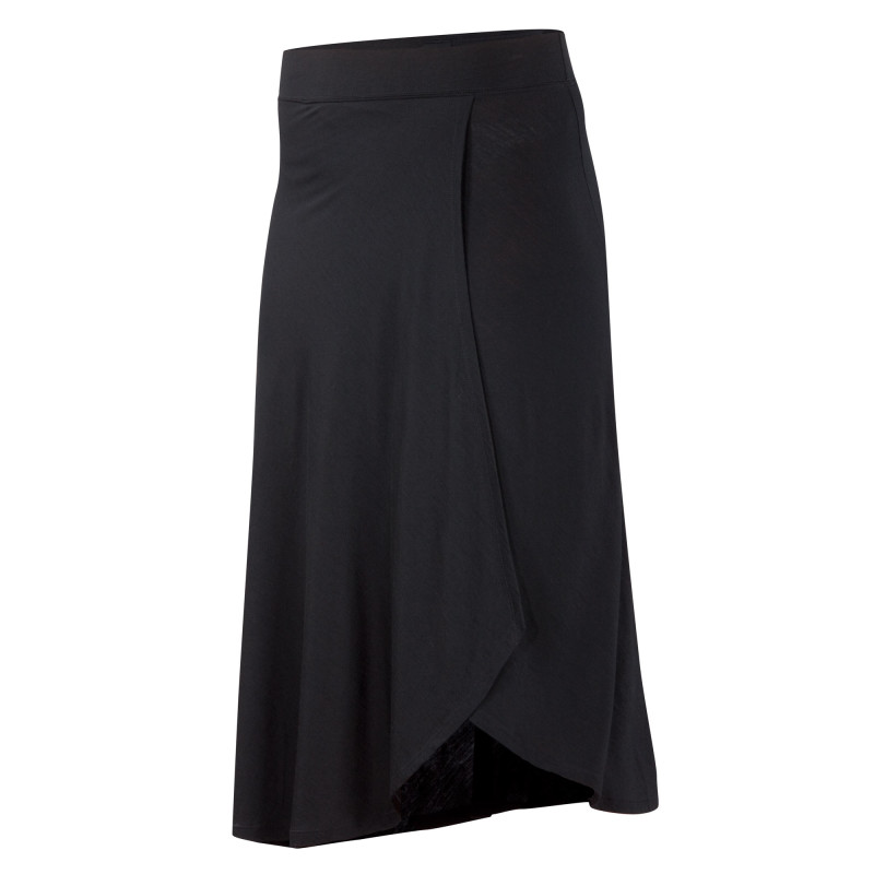 Lightweight Merino jersey bias cut skirt