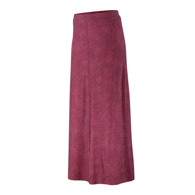 All-season Merino jersey maxi skirt