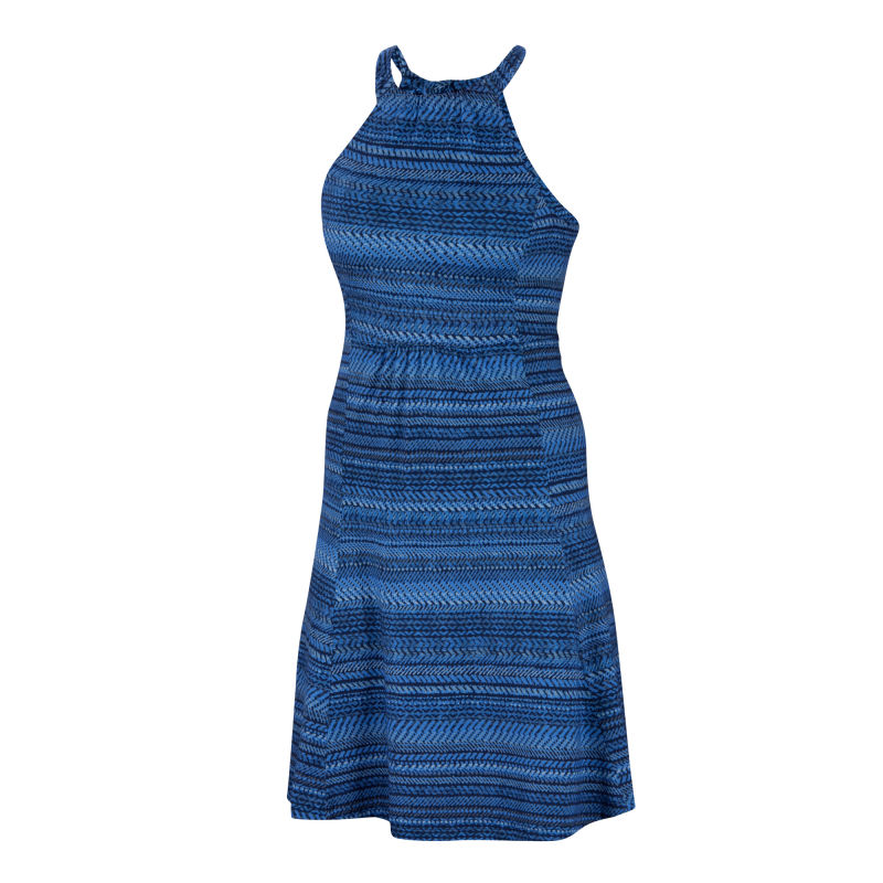 All-season Merino jersey knit sleeveless dress