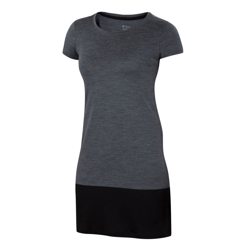 All-season Merino jersey shift dress
