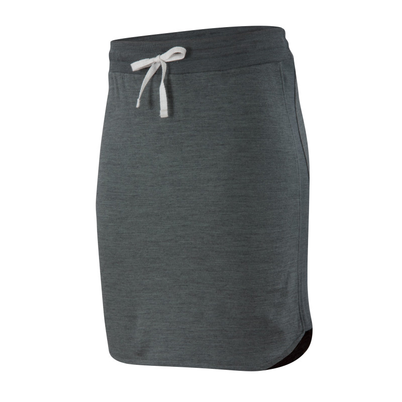 Mid-weight Merino French terry knit skirt