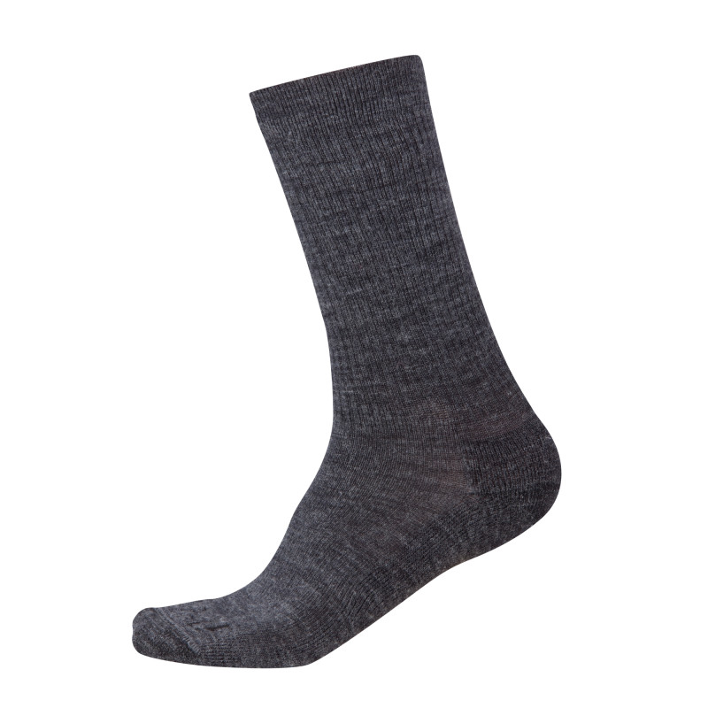 Unisex's - Solid Ribbed Sock