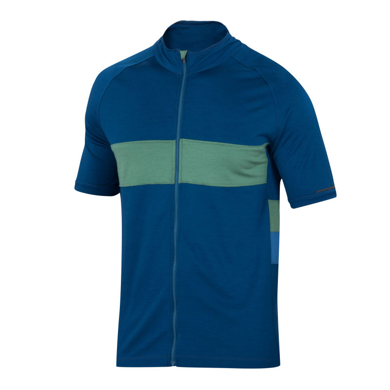 Merino mid-weight cycling jersey