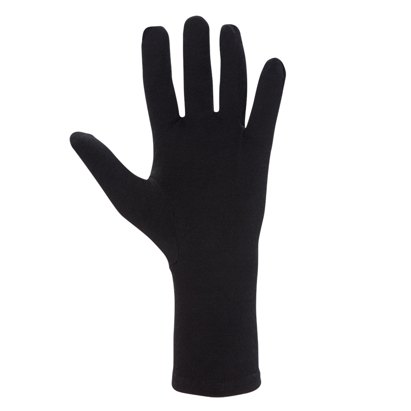 Lightweight insulating stretch Merino glove liner