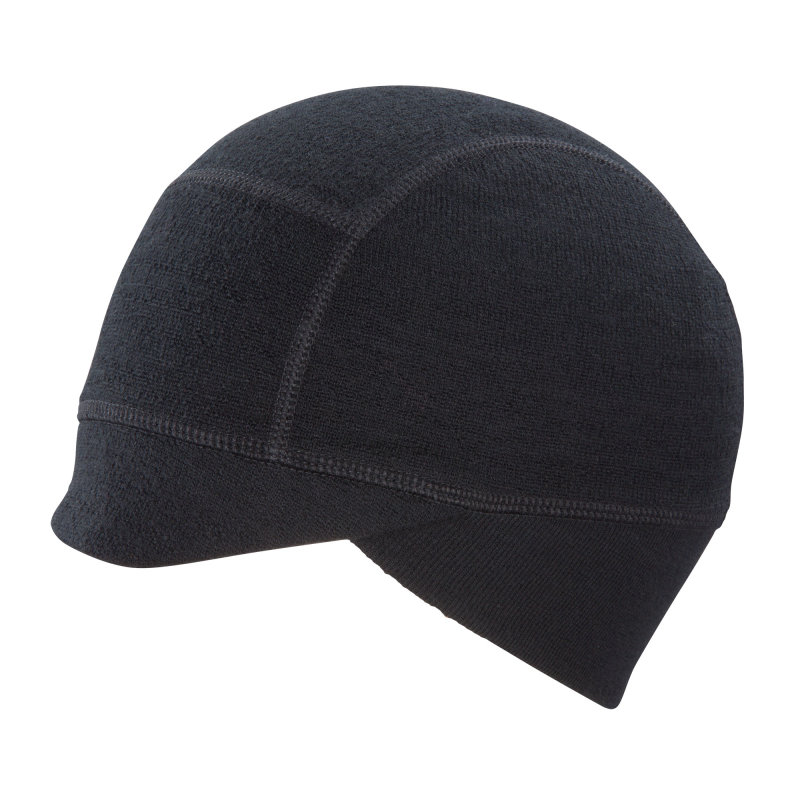 Beanie fit with earflaps and visor