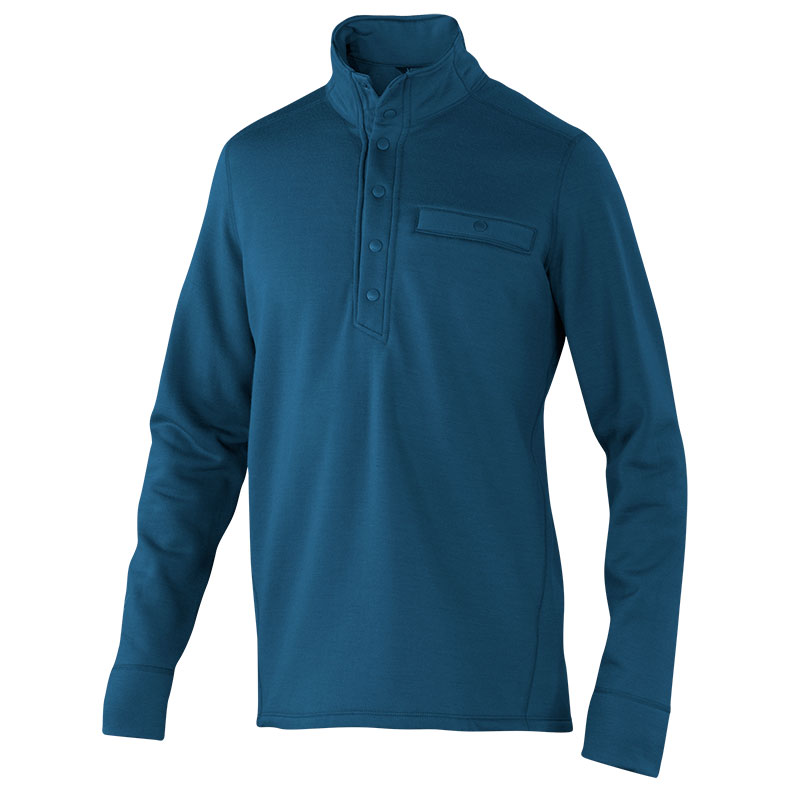 100% Merino fleece pullover