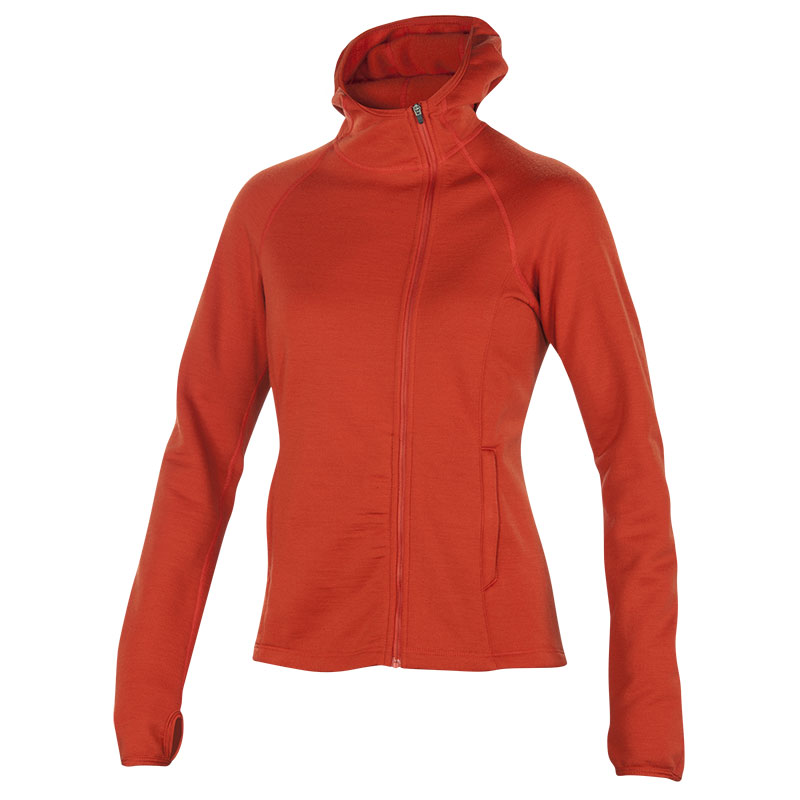 100% Merino fleece hoody