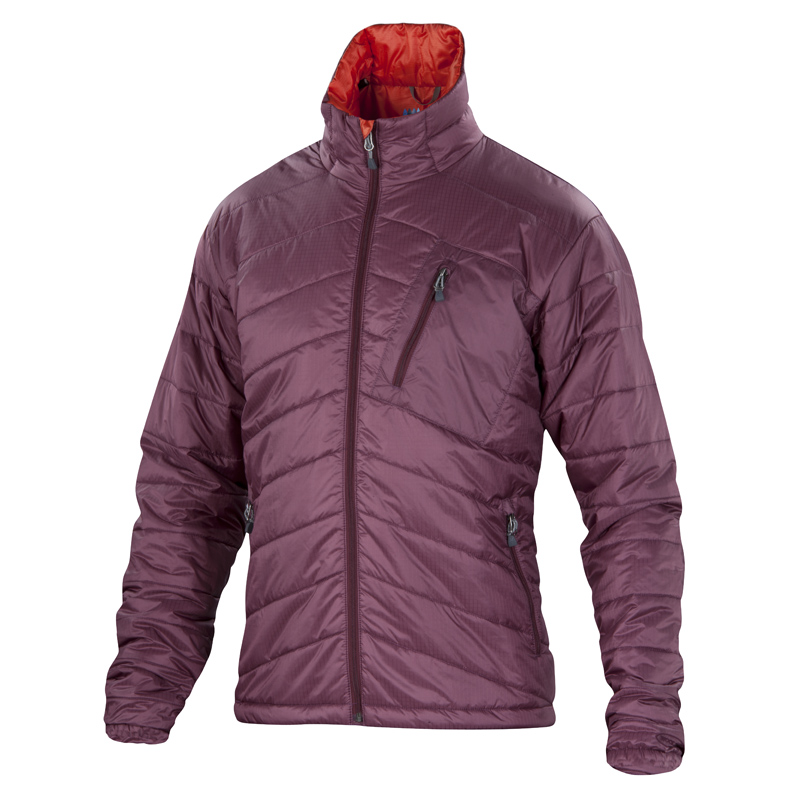 Warm wool insulated jacket