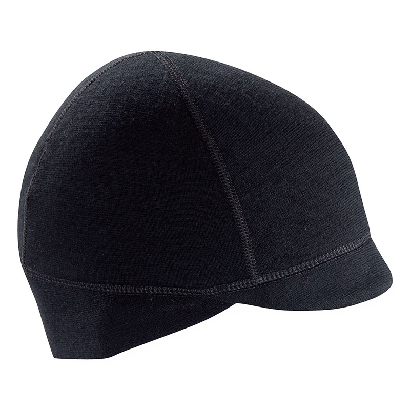Beanie fit with earflaps and a visor