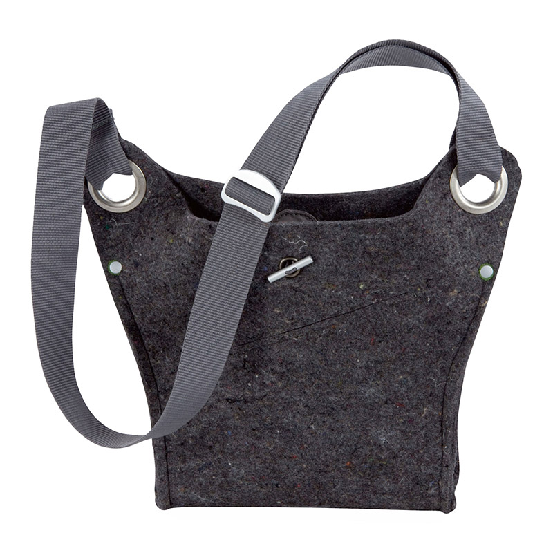 Reclaimed wool felt bag